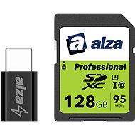 AlzaPower Mini Series Micro USB - USB-C Black - Átalakító