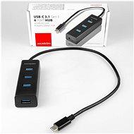 AXAGON HUE-S2C USB-C 4-Port USB 3.0 CHARGING hub - USB Hub