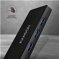 AXAGON HUE-G1A USB-A SLIM Hub 4-Port USB 3.2 Gen 1 - USB Hub