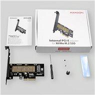 AXAGON PCEM2-N - Adapter