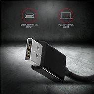 AXAGON RVD-VGN átalakító DisplayPort - VGA - Átalakító