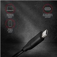AXAGON RVC-DPC Átalakító USB-C -> DisplayPort - Átalakító