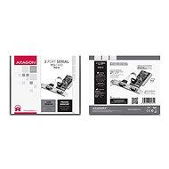 Axago PCIA-S2 - Bővítőkártya