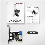 AXAGON PCEU-232VL - Vezérlőkártya