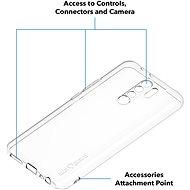 AlzaGuard Xiaomi Redmi 9-hez átlátszó - Telefon hátlap