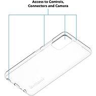 AlzaGuard Crystal Clear TPU Case a Samsung Galaxy A32 készülékhez - Telefon hátlap