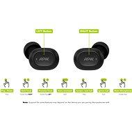 APW Fülhallgató fekete - Vezeték nélküli fül-/fejhallgató