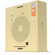 AlzaPower Premium HDMI 2.0 High Speed 4K 5m - Videokábel