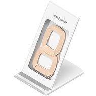 AlzaPower WF220 Wireless Fast Charger fehér - Vezeték nélküli töltő