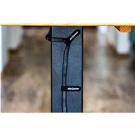 AlzaPower Wall VelcroStrap+ 10 db, fekete - Kábelrendező