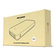 AlzaPower Onyx 20000mAh USB-C - fehér - Powerbank