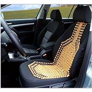 COMPASS üléshuzat fa golyókkal 127x38cm - Autós üléshuzat
