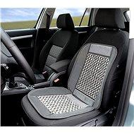 Compass fagolyós autós üléshuzat szürke oldalszegéllyel 93x44cm - Autós üléshuzat