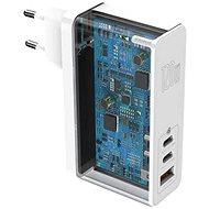 Baseus GaN Mini Quick Charger 120W White - Hálózati adapter