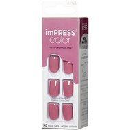 KISS IMPRESS szín - szirom rózsaszín - Műköröm