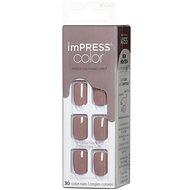 KISS IMPRESS Color - Taupe-díj - Műköröm