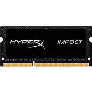 HyperX SO-DIMM 4 GB-os DDR3L 1600 MHz-es Impact CL9 kettős feszültségű fekete sorozat - Rendszermemória