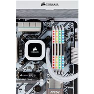 Corsair 32GB KIT DDR4 4000MHz CL19 Dominator Platinum RGB White - Rendszermemória