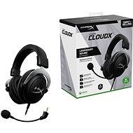 HyperX CloudX Headset fekete (2020) - Gamer fejhallgató