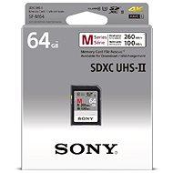 Sony SDXC 64GB Class 10 Pro UHS-II 260MB/s - Memóriakártya
