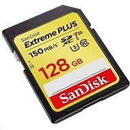 SanDisk SDXC 128GB Extreme Plus UHS-I (V30) U3 - Memóriakártya