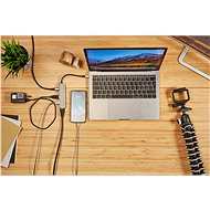Epico USB Type-C Hub Multi-Port 4k HDMI  - rose gold/black - Port replikátor