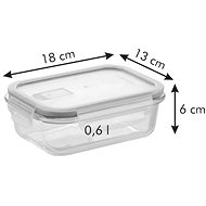 Tescoma FRESHBOX Glass 92171 0,6 liter - Edény