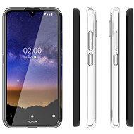 Hishell TPU Nokia 2.2-hez átlátszó - Telefon hátlap