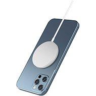 Hishell Magsafe Wireless Charger for iPhone 12 Series fehér - Vezeték nélküli töltő