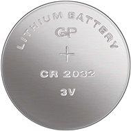 GP CR2032, lítium, 5 db buborékcsomagolásban - Gombelem