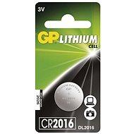 GP lítium gombelem GP CR2016 - Gombelem