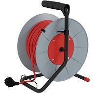Emos PVC hosszabbító kábel dobbal - 4 aljzat, 25m - Hosszabbító kábel