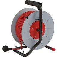 EMOS PVC Hosszabbító kábel dobon - 4 aljzat, 30 m, 1 mm2 - Hosszabbító kábel