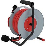 EMOS PVC Hosszabbító kábel dobon - 1× aljzat, 25 m, 1,5 mm2 - Hosszabbító kábel