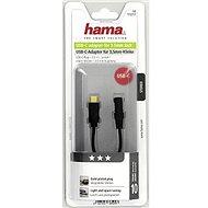 Hama USBC (M) to 3.5mm jack (F) - Átalakító