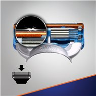 GILLETTE Fusion 4 db - Férfi borotvabetét