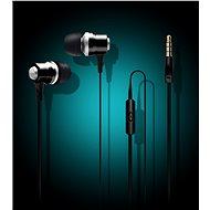 CONNECT EP-222-BK Fekete - Fej-/fülhallgató