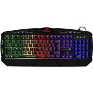 CONNECT IT BIOHAZARD Keyboard - fekete - Gamer billentyűzet