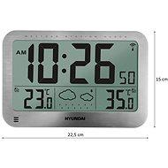 Hyundai WS 2331 ezüstmetál - Időjárás állomás
