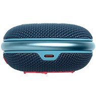 JBL CLIP4 kék korall - Bluetooth hangszóró