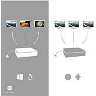 I-TEC USB-C Metal Nano 3x Display Docking Station + Power Delivery 100W - Port replikátor