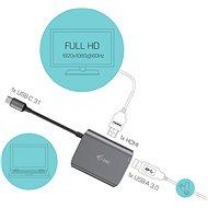 I-TEC USB-C Metal HDMI - Átalakító