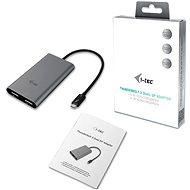 I-TEC Thunderbolt 3 - 2x DisplayPort - Átalakító
