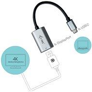 I-TEC USB-C Metal Display Port Adapter 60Hz - Átalakító