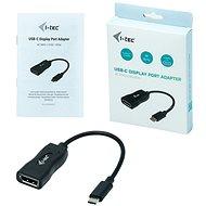 I-TEC USB-C Display Port Adapter 4K/60Hz - Átalakító