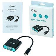 I-TEC USB-C VGA Adapter 1920x1080p/60Hz - Átalakító