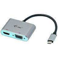 I-TEC USB-C Metal HDMI and VGA Adapter - Átalakító