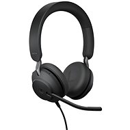 Jabra Evolve2 40 MS Stereo USB-A - Fej-/fülhallgató