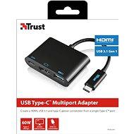 Trust USB-C Multiport Adapter - Átalakító