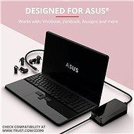 TRUST MAXO ASUS 90W laptop töltő - Adapter
